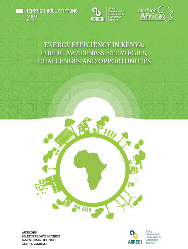 Energy efficiency in Kenya: public awareness, strategies, challenges and opportunities.